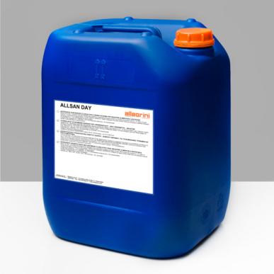 Chlorhaltiges Desinfektionsmittel für Werkzeug und Maschinen - Allsan Day 25 Kg