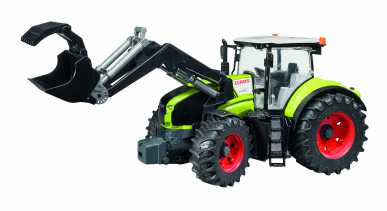Tracteur Claas Axion 950 avec chargeur Bruder 1:16