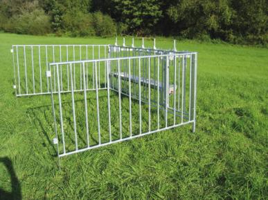 Clôture pour CALF-TEL MULTIMAX, 108kg, 280x200x120cm