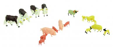 Coffret d'animaux de la ferme  1:32