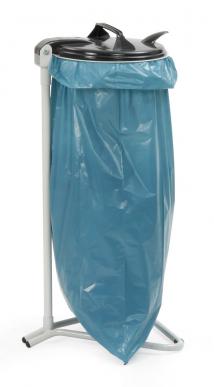 Support pour sac poubelle pour sacs 120 litres 4 pieds de support