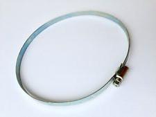 Collier de serrage galvanisé 12mm       12mm Ø  100  - 120mm