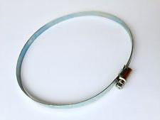 Collier de serrage galvanisé 12mm        12mm Ø 140 - 160mm