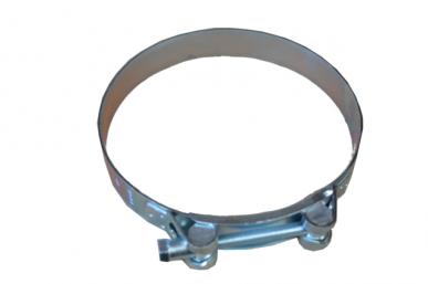 Collier de serrage large galvanisé 24mm