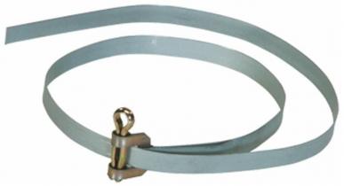 Collier de serrage multi-usage bande métallique + goupille L : 600mm