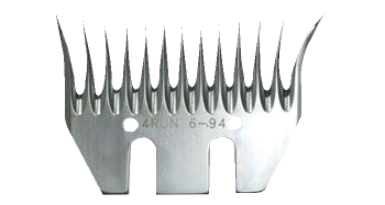 Comb 4RUNSPRINT6, package of 5