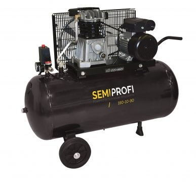 Kompressor SEMI PROFI 190 l/min 10 bar 90 l