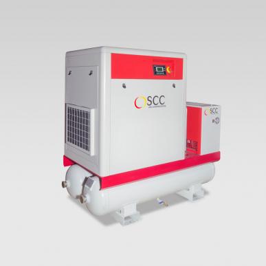 Compresseur SMART 11TD, 7-12 bar, 11 kW, 300 L, silencieux
