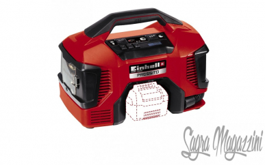 Compresseur à roues Einhell lubrifié 24Lt 1500W Set Outils à air comprimé