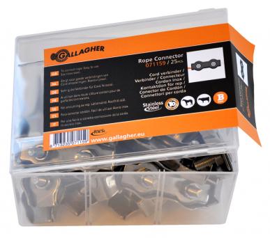 Connecteur cordon inox (25)
