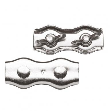 Connecteur cordon inox avec écrou papillon (4)