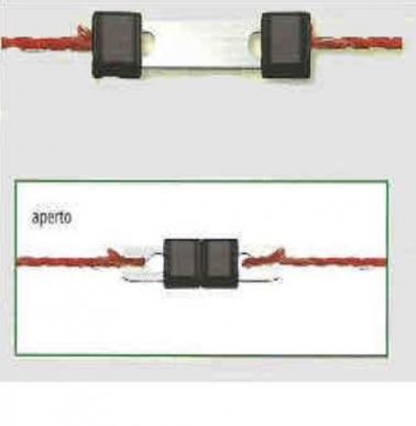 Connecteur litzclip fil 3 mm