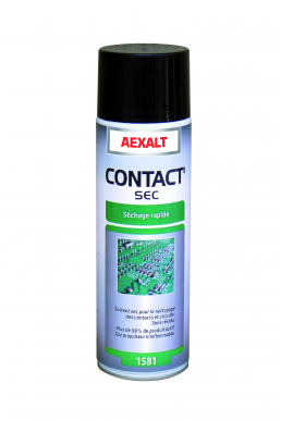 Solvante sec nettoyage contacts et circuits CONTACT'SEC Aérosol 650 mL