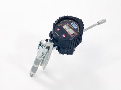 """Digitaler Fettzähler """"Grease Control"""" mit Ovalgetriebe, für Reihenmontage"""