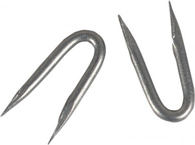 Crampillons zingage zinc/ alu, 3,8 x 38 mm, 1 kg (= env. 155 pièces)