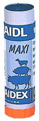 Crayon marqueur RAIDEX couleur bleue