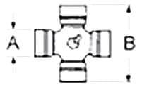 Croisillon 27X70 adaptable WALTERSCHEID WI/11.03.00 BY-PY 41203