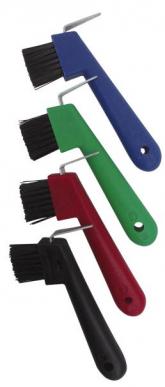 Cure-pied avec brosse, rouge