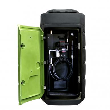 Cuve gasoil 1500L double paroi Fuelstation Platique - Stationnaire - 60L/min