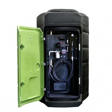 Cuve Gasoil 2500L double paroi Fuelstation - Plastique - 60L/min