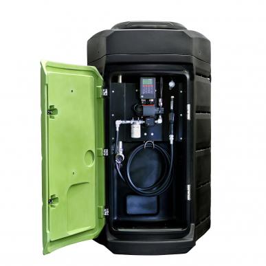 Cuve gasoil 2500L double paroi Fuelstation - Plastique - Stationnaire - 60L/min - DMS