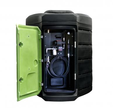 Cuve gasoil 5000L double paroi Fuelstation - Plastique - Stationnaire - 60L/min