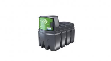 Cuve Gasoil / GNR - FuelMaster® - 1200L- double paroi - Pompe 230V -  72L/min avec compteur mécanique