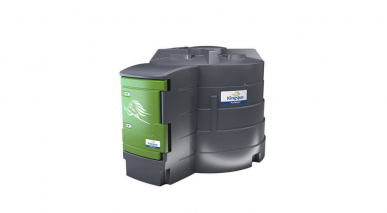 Cuve Gasoil / GNR - FuelMaster® - 3500L - double paroi - Pompe 230V - 72L/min avec compteur mécanique