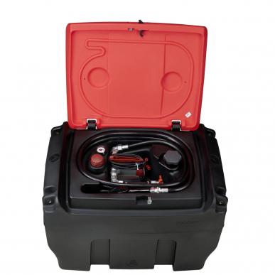 Cuve fioul 300L plastique mobile mobiFITT - Simple paroi - 35L/min