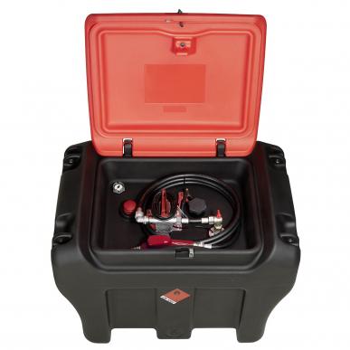 Cuve de transport fioul 450L plastique mobiMASTER - Simple paroi - 35L/min