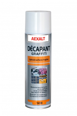 Décapant graffiti surfaces fragiles DECAP'GRAFFITI SF Aérosol 650 mL