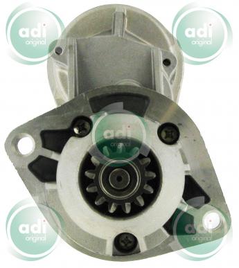 Démarreur pour Machine agricole ADI DEM608254 2.5 kW - Modèle avec reducteur