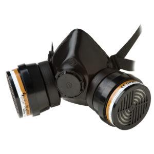 Demi-masque Polimask 100/2 en caoutchouc EPDM