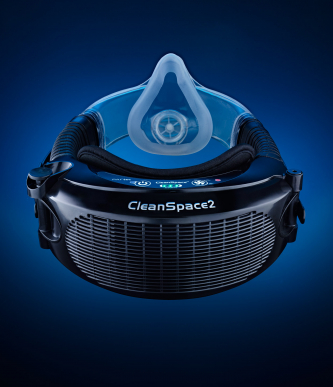 Demi-masque respiratoire CleanSpace2