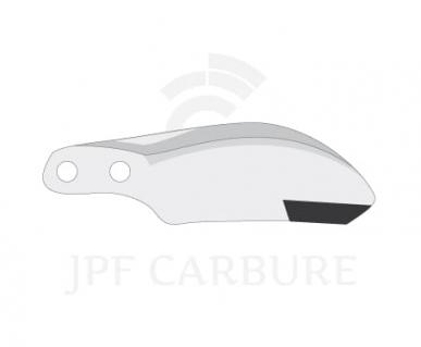 Dent de rotor type Dutzi 10126