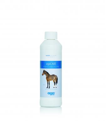 Désinfectant pour cheval AgaCARE (0,5 litre) crevasses, brûlures, eczéma d'été