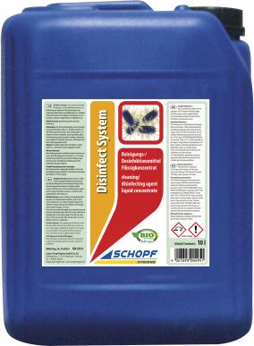 Désinfectant à base de peroxyde d'hydrogène - Disinfect System 10L