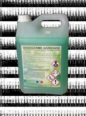 DESOGERME AGRICHOC - DESINFECTANT DE CHOC BACTERICIDE . FONGICIDE. VIRUCIDE