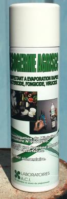 DESOGERME AGRISEC AEROSOL Carton de 6 aerosols - DESINFECTANT A EVAPORATION RAPIDE DES MATERIELS