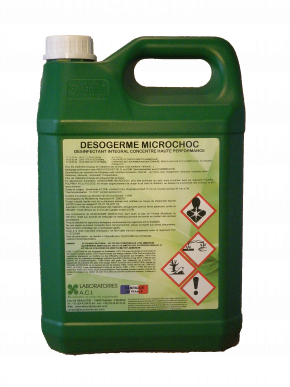 DESOGERME MICROCHOC - DESINFECTANT INTEGRAL CONCENTRE HAUTE PERFORMANCE