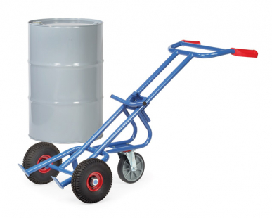Diable à fûts  Charge 300kg - Avec roue directionnelle