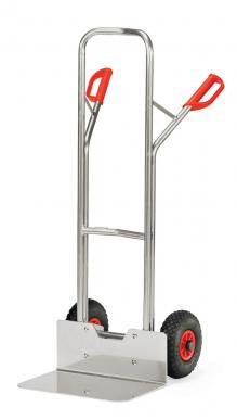 Diable  Aluminium - Charge 200kg - Avec bavette large