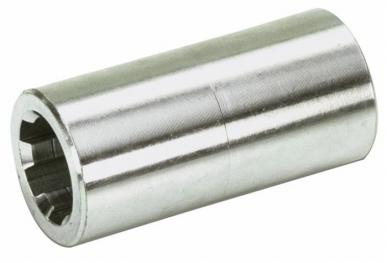 Douille cannelée Prise de Force 20x17 DIN 5482 Z12 L : 40