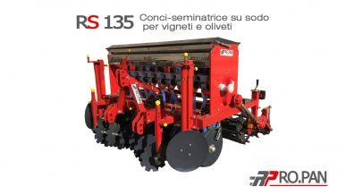 Semoir- fertilisateur pour vignobles et oliveraies RS135