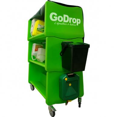 Égouttoir pour bidons de produits phytosanitaires GoDrop