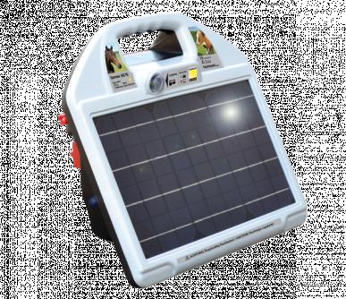 Electrificateur 12V solaire farmer AS70 (650 mJ, 11000V) avec régulateur de puissance automatique