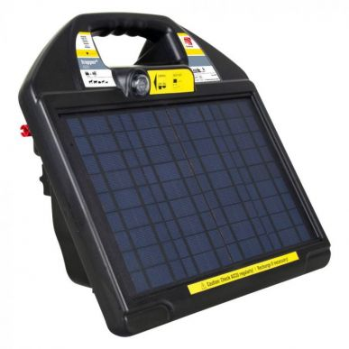 Electrificateur 12V solaire Trapper AS35 (330 mJ, 9000V)