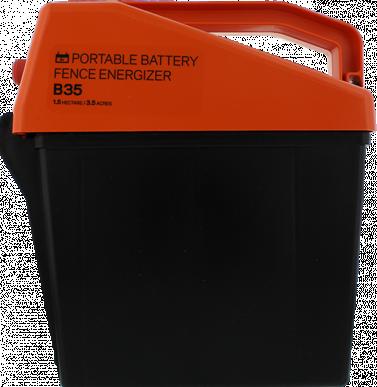 Electrificateur batterie 12V ou à piles 9V Modèle B35 (9V - 0,35 J)