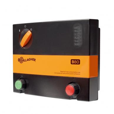 Electrificateur de clôture batterie 12V Modèle B80 MultiPower (12V - 0,8 J)