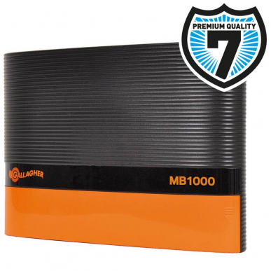 Electrificateur secteur 230V Modèle MB1000 Multi Power (12V - 10 J)